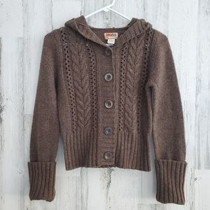Mudd Brown Cropped Sweater
